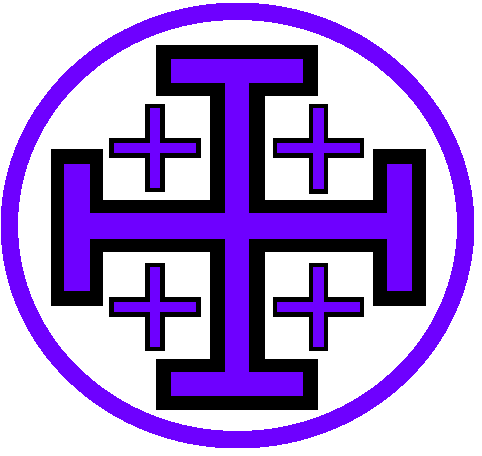 File:Coat of Arms of the Sovereign Order of the Violet Inquisitors.png