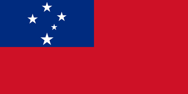 File:Flag of Samoa.png