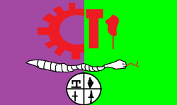 Polkburg USR flag