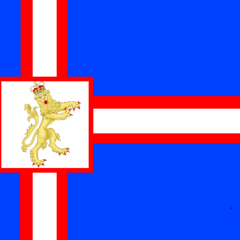 Austrar Islands flag  - Used from January 2013 to March 2013.