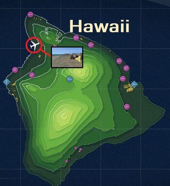 Kona Coast Shipping Map
