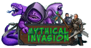 Mythical Invasion Logo