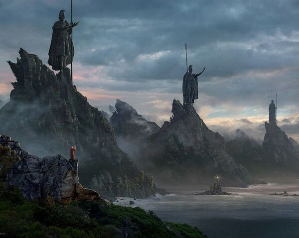 File:Gateway to the Dwarven mountains of Harad.jpg