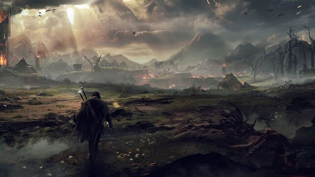 File:Warrior in middle earth shadow of mordor-1920x1080.jpg