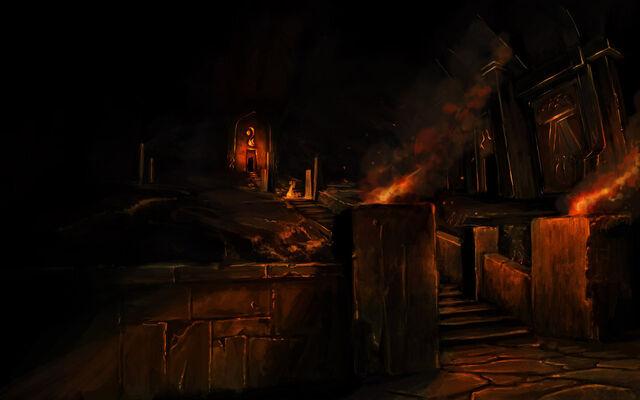File:Dwarfs underground temples by bezduch.jpg