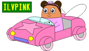 File:Twinkle in her car.png