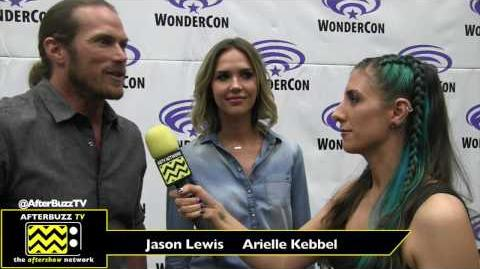 WonderCon 2017 'Midnight, Texas' Jason Lewis & Arielle Kebbel