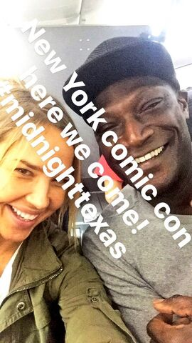 File:On our way @NY Comic Con @PMensahOnline @NBCMidnightTX -nycc -midnighttexas 😈👽😽.jpg