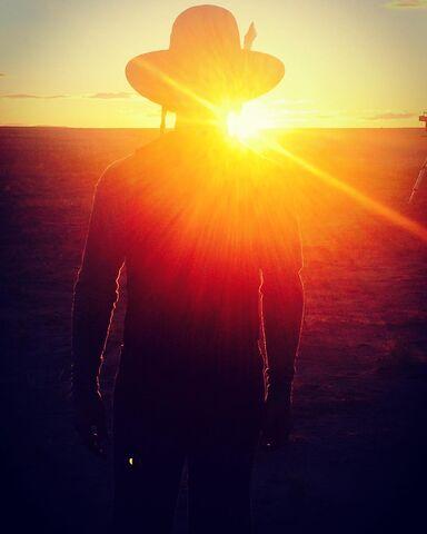 File:BTS Zahn McClarnon Sunset.jpg