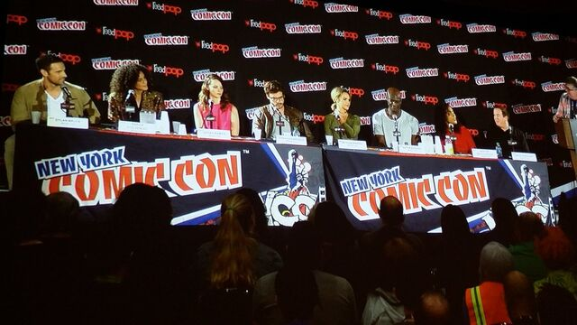 File:@ the @NBCMidnightTX panel. Enjoyed the pilot. If you're a fan of Supernatural, Grimm, Constantine, The Gates...you'll love this. -NYCC.jpg