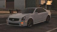 MCLA Cadillac CTS-V Traffic Car