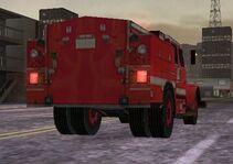 MC2 1988 International 4000-Series Fire Truck Rear