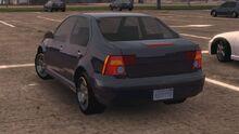 MCLA Volkswagen Jetta-Like Car Rear