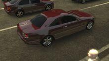 MCLA Mercedes Benz CL Rear