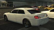 MCLA Chrysler 300-Like Car Rear