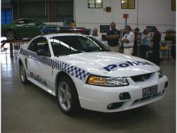 Vic police mustang 2