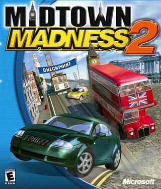 Midtown Madness 2 Coverart