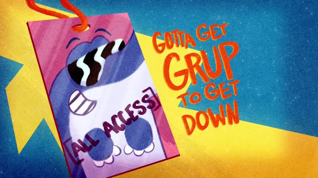 File:Gotta Get Grup to Get Down Title Card HD.png