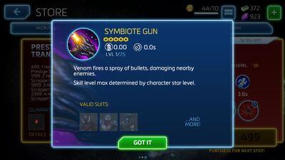 Symbiote Gun