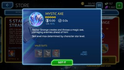 Mystic Axe