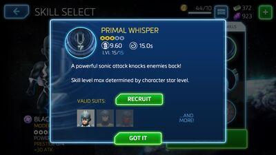 Primal Whisper