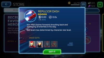 Repulsor Dash
