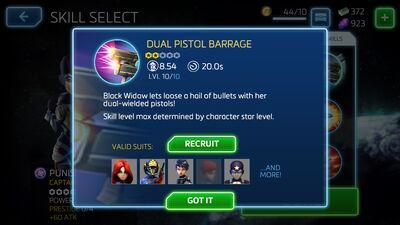 Dual Pistol Barrage