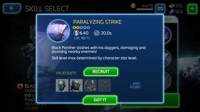 Paralyzing Strike