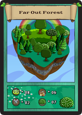 Farout forest card