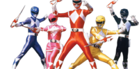 Characters in Mighty Morphin Power Rangers