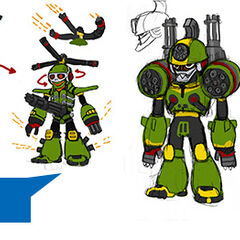 Comcept ideas for Mighty No. 5