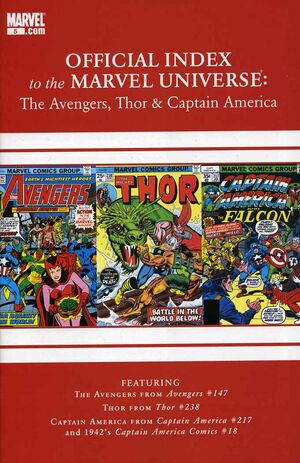 Official Index to the Marvel Universe Vol 2 5