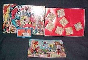 Merchandise-stampset marvel
