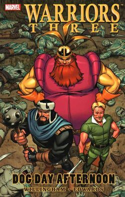 Warriors Three TPB Vol 1 1