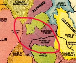 Forest of Sigurd