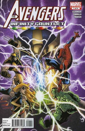 Avengers and the Infinity Gauntlet Vol 1 1