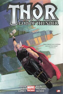 Thor God of Thunder Deluxe Hardcover Vol 1 2