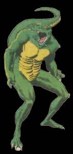 Bio-alien reptoids