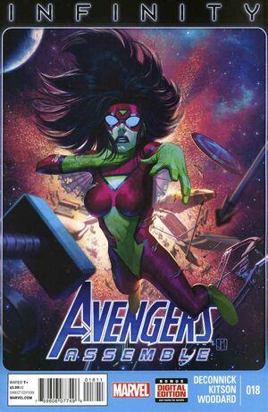 Avengers Assemble Vol 3 18
