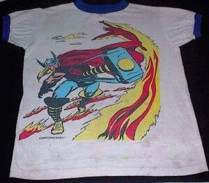 Merchandise-tshirt-thor torch-013005