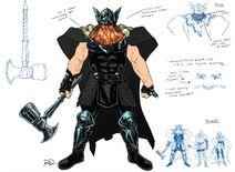 War Thor Design
