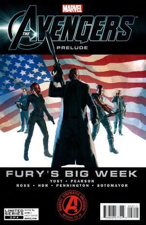 Marvel's The Avengers Prelude Fury's Big Week Vol 1 2
