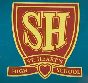 Saint Hearts Logo