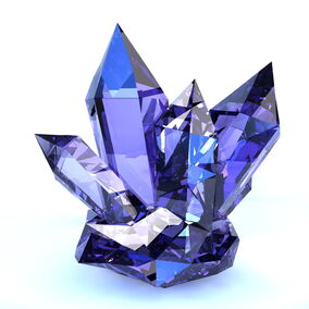 Blue-sign-crystal
