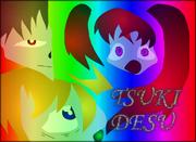 Tsuki desu rainbow by questoflaizen-d5w43l1