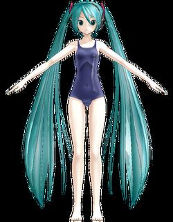 1052 Miku swimsuit ver.1.10 by Gouriki