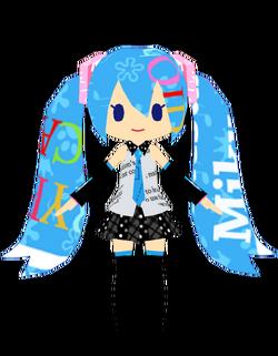 Miku Milo style by Tawashi