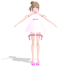 Sasara Satou Sapphire-style by SapphireRose-chan
