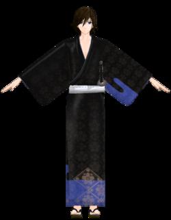 Yuuma kimono by hzeo