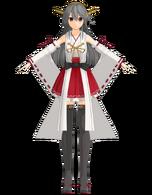 Haruna Kai Ni weaponless by Tsumidango
